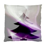 Purple Christmas Tree Standard Cushion Case (Two Sides)