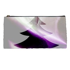 Purple Christmas Tree Pencil Cases by yoursparklingshop