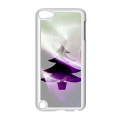 Purple Christmas Tree Apple Ipod Touch 5 Case (white) by yoursparklingshop