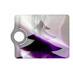 Purple Christmas Tree Kindle Fire Hd (2013) Flip 360 Case by yoursparklingshop