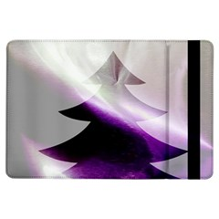 Purple Christmas Tree Ipad Air Flip by yoursparklingshop