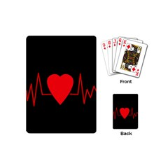 Hart Bit Playing Cards (mini)  by Valentinaart