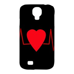 Hart Bit Samsung Galaxy S4 Classic Hardshell Case (pc+silicone) by Valentinaart
