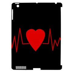 Hart Bit Apple Ipad 3/4 Hardshell Case (compatible With Smart Cover) by Valentinaart