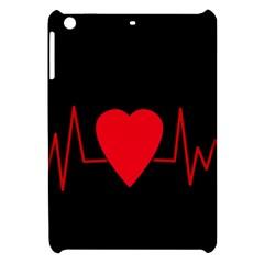 Hart Bit Apple Ipad Mini Hardshell Case by Valentinaart