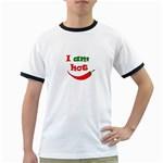 I am hot  Ringer T-Shirts