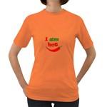 I am hot  Women s Dark T-Shirt