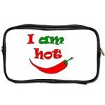 I am hot  Toiletries Bags