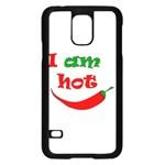 I am hot  Samsung Galaxy S5 Case (Black)