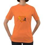 Twerk or treat - Funny Halloween design Women s Dark T-Shirt