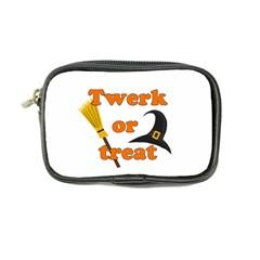 Twerk Or Treat   Funny Halloween Design Coin Purse by Valentinaart