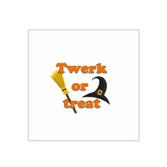 Twerk Or Treat   Funny Halloween Design Satin Bandana Scarf by Valentinaart