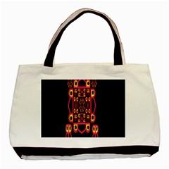 Alphabet Shirt Basic Tote Bag by MRTACPANS