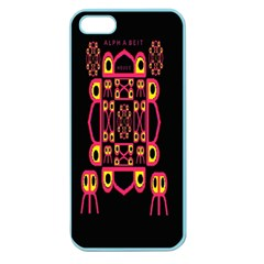 Alphabet Shirt Apple Seamless Iphone 5 Case (color) by MRTACPANS