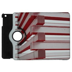 Red Sunglasses Art Abstract  Apple iPad Mini Flip 360 Case by Zeze