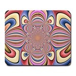 Pastel Shades Ornamental Flower Large Mousepads