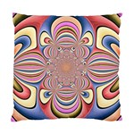 Pastel Shades Ornamental Flower Standard Cushion Case (Two Sides)