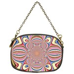 Pastel Shades Ornamental Flower Chain Purses (Two Sides)