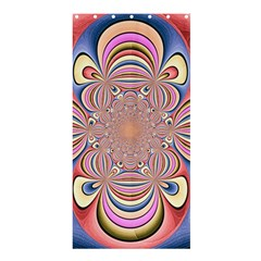 Pastel Shades Ornamental Flower Shower Curtain 36  X 72  (stall)  by designworld65
