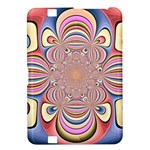 Pastel Shades Ornamental Flower Kindle Fire HD 8.9