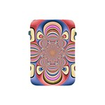 Pastel Shades Ornamental Flower Apple iPad Mini Protective Soft Cases