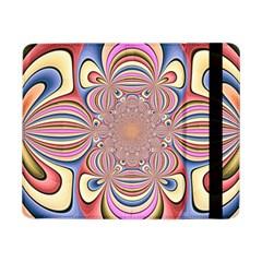 Pastel Shades Ornamental Flower Samsung Galaxy Tab Pro 8 4  Flip Case by designworld65