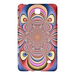 Pastel Shades Ornamental Flower Samsung Galaxy Tab 4 (7 ) Hardshell Case  by designworld65