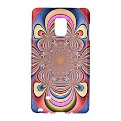 Pastel Shades Ornamental Flower Galaxy Note Edge by designworld65