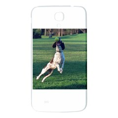 English Springer Catching Ball Samsung Galaxy Mega I9200 Hardshell Back Case by TailWags