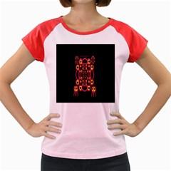 Alphabet Shirt Women s Cap Sleeve T Shirt by MRTACPANS