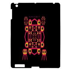 Alphabet Shirt Apple Ipad 3/4 Hardshell Case by MRTACPANS
