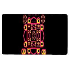 Alphabet Shirt Apple Ipad 3/4 Flip Case by MRTACPANS