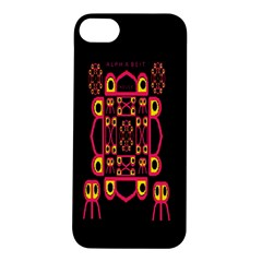 Alphabet Shirt Apple Iphone 5s/ Se Hardshell Case by MRTACPANS