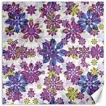Stylized Floral Ornate Pattern Canvas 20  x 20