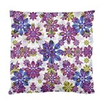 Stylized Floral Ornate Pattern Standard Cushion Case (Two Sides)