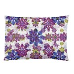 Stylized Floral Ornate Pattern Pillow Case (Two Sides)