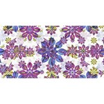 Stylized Floral Ornate Pattern YOU ARE INVITED 3D Greeting Card (8x4)