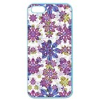 Stylized Floral Ornate Pattern Apple Seamless iPhone 5 Case (Color)