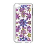 Stylized Floral Ornate Pattern Apple iPod Touch 5 Case (White)