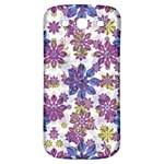 Stylized Floral Ornate Pattern Samsung Galaxy S3 S III Classic Hardshell Back Case