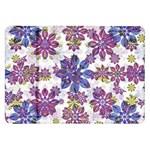 Stylized Floral Ornate Pattern Samsung Galaxy Tab 8.9  P7300 Flip Case