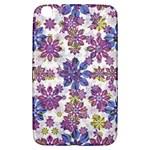 Stylized Floral Ornate Pattern Samsung Galaxy Tab 3 (8 ) T3100 Hardshell Case