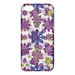 Stylized Floral Ornate Pattern Apple iPhone 5C Hardshell Case