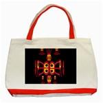 Alphabet Shirt R N R Classic Tote Bag (Red)