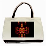 Alphabet Shirt R N R Basic Tote Bag (Two Sides)