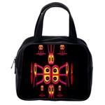 Alphabet Shirt R N R Classic Handbags (One Side)