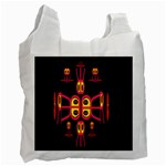 Alphabet Shirt R N R Recycle Bag (Two Side)