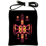 Alphabet Shirt R N R Shoulder Sling Bags