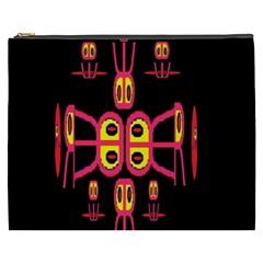 Alphabet Shirt R N R Cosmetic Bag (xxxl)  by MRTACPANS