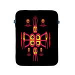 Alphabet Shirt R N R Apple iPad 2/3/4 Protective Soft Cases